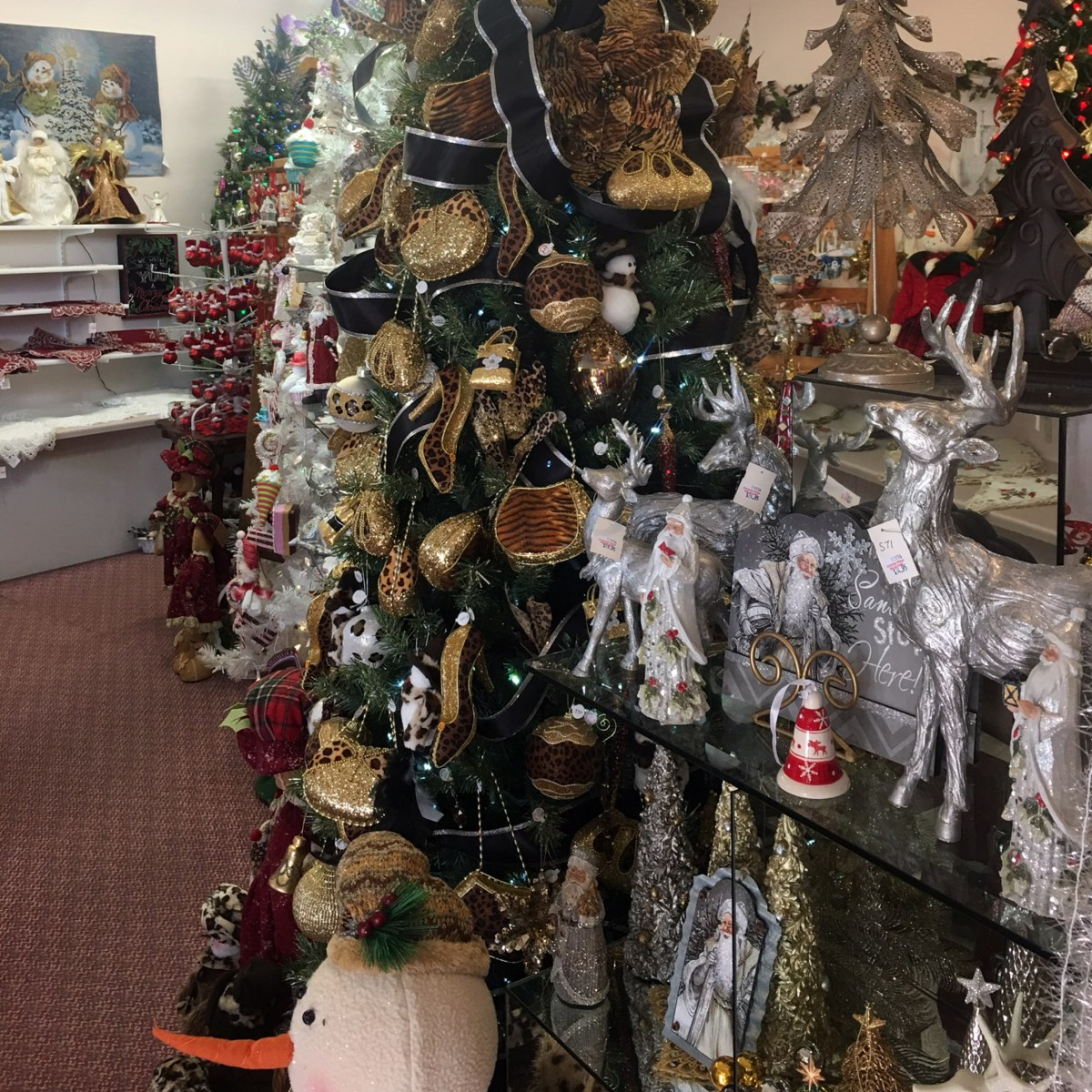 Holiday Decor at Christmas Village