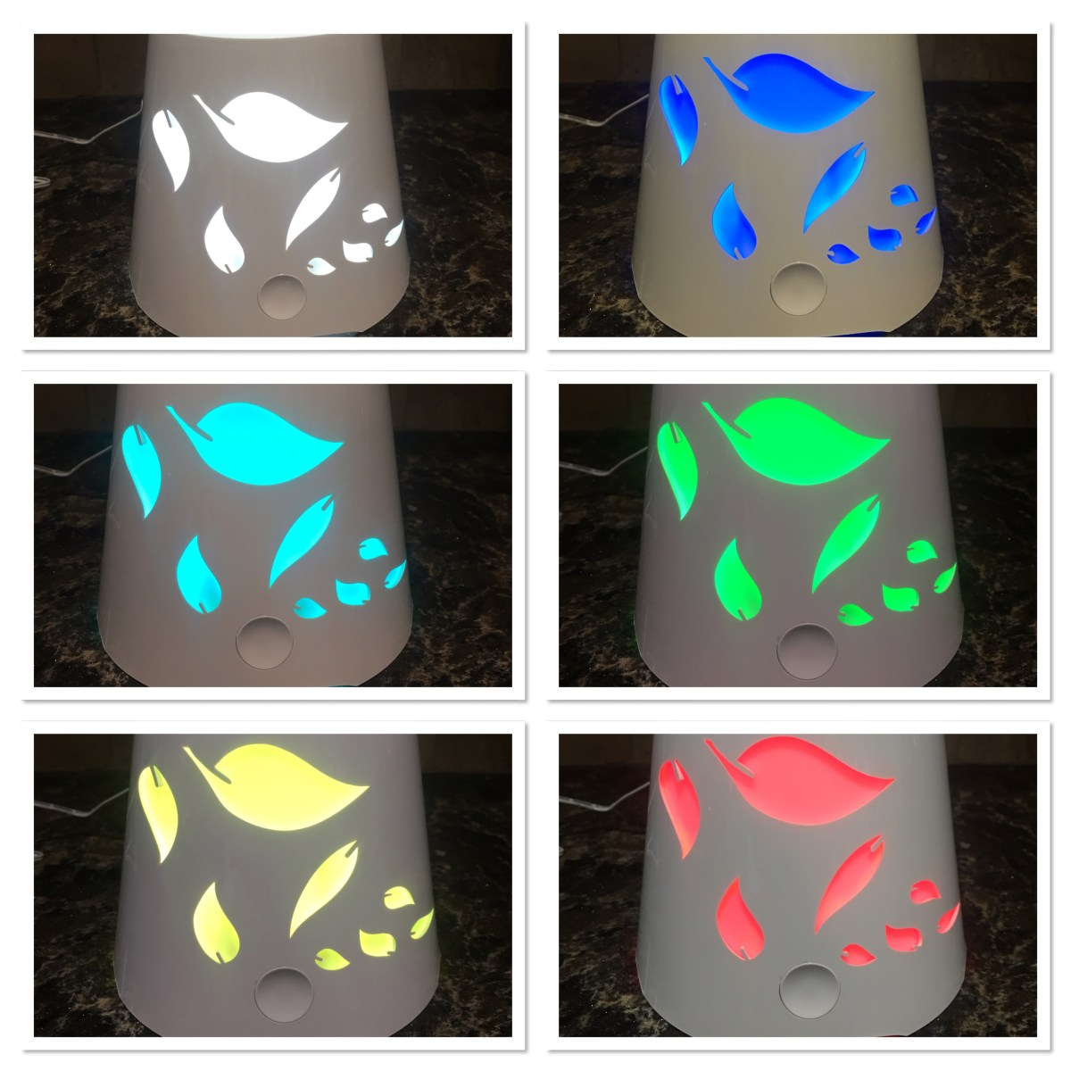 Island Miracles Light Up Diffuser