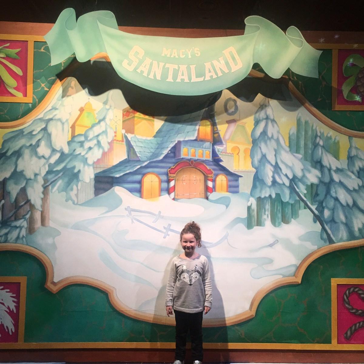Santaland Minneapolis Entrance