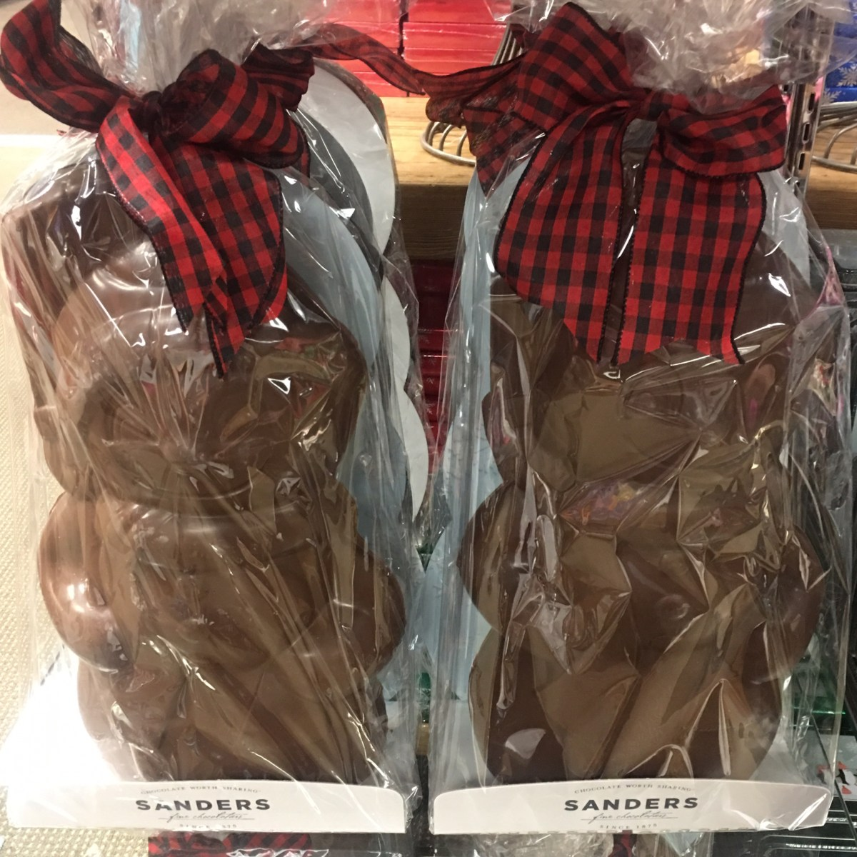 Sanders Chocolate Snowman