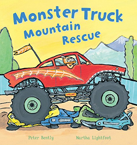 Monster Truck Mountain Rescue by Peter Bently