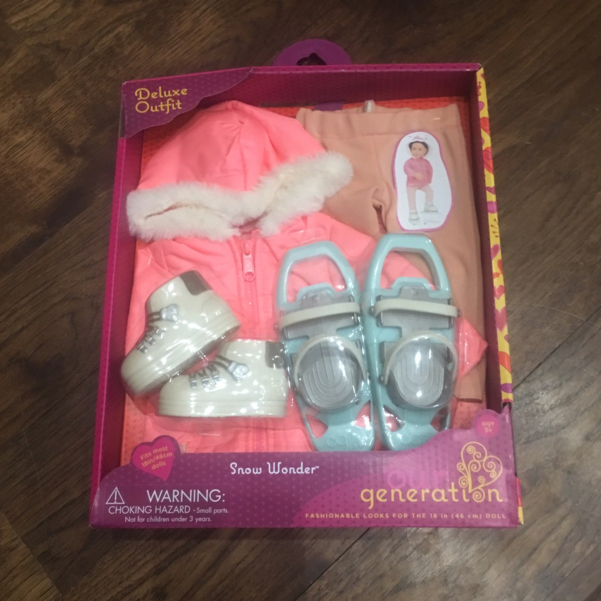 Our Generation Doll Outfit Winter Gear
