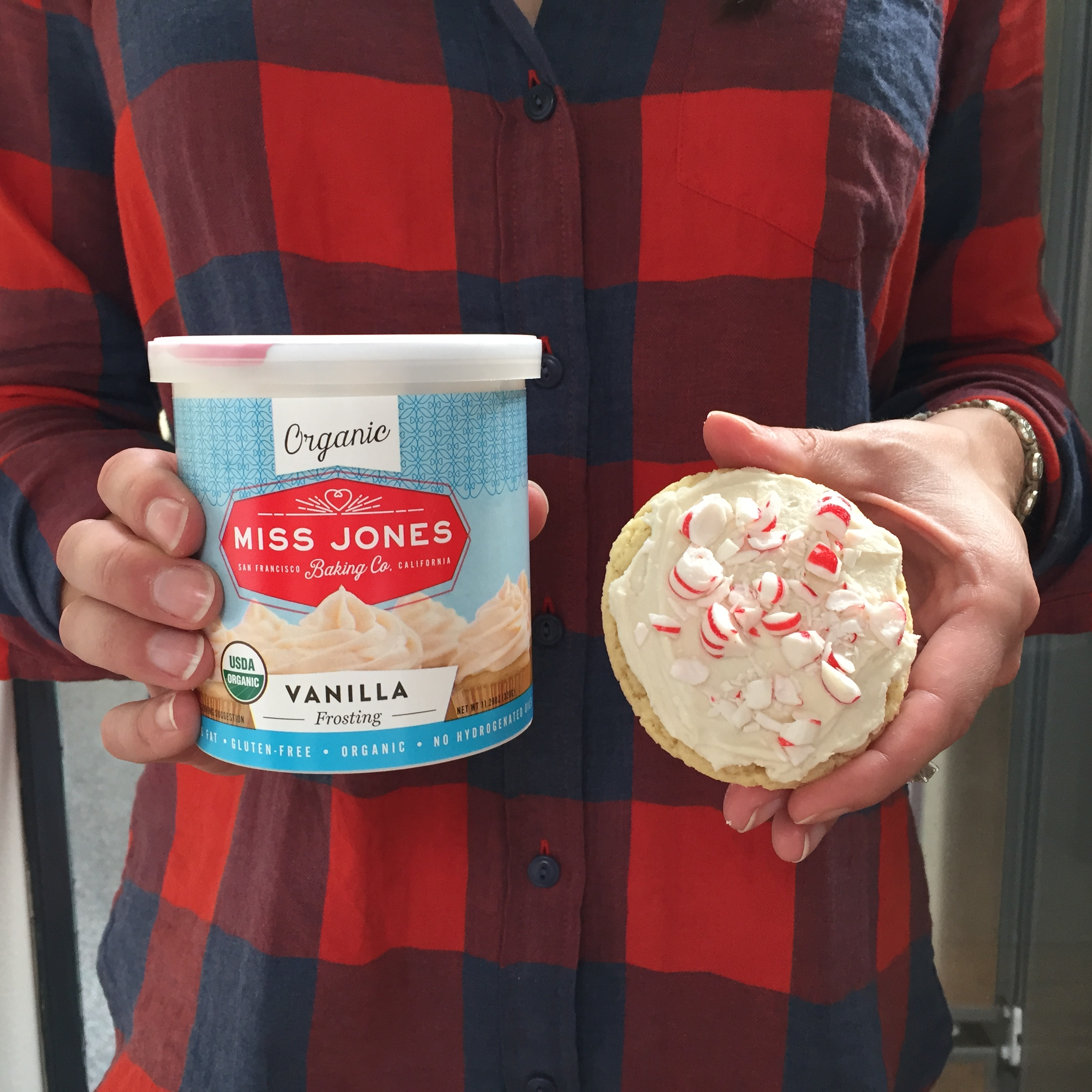 Miss Jones Peppermint Cookies