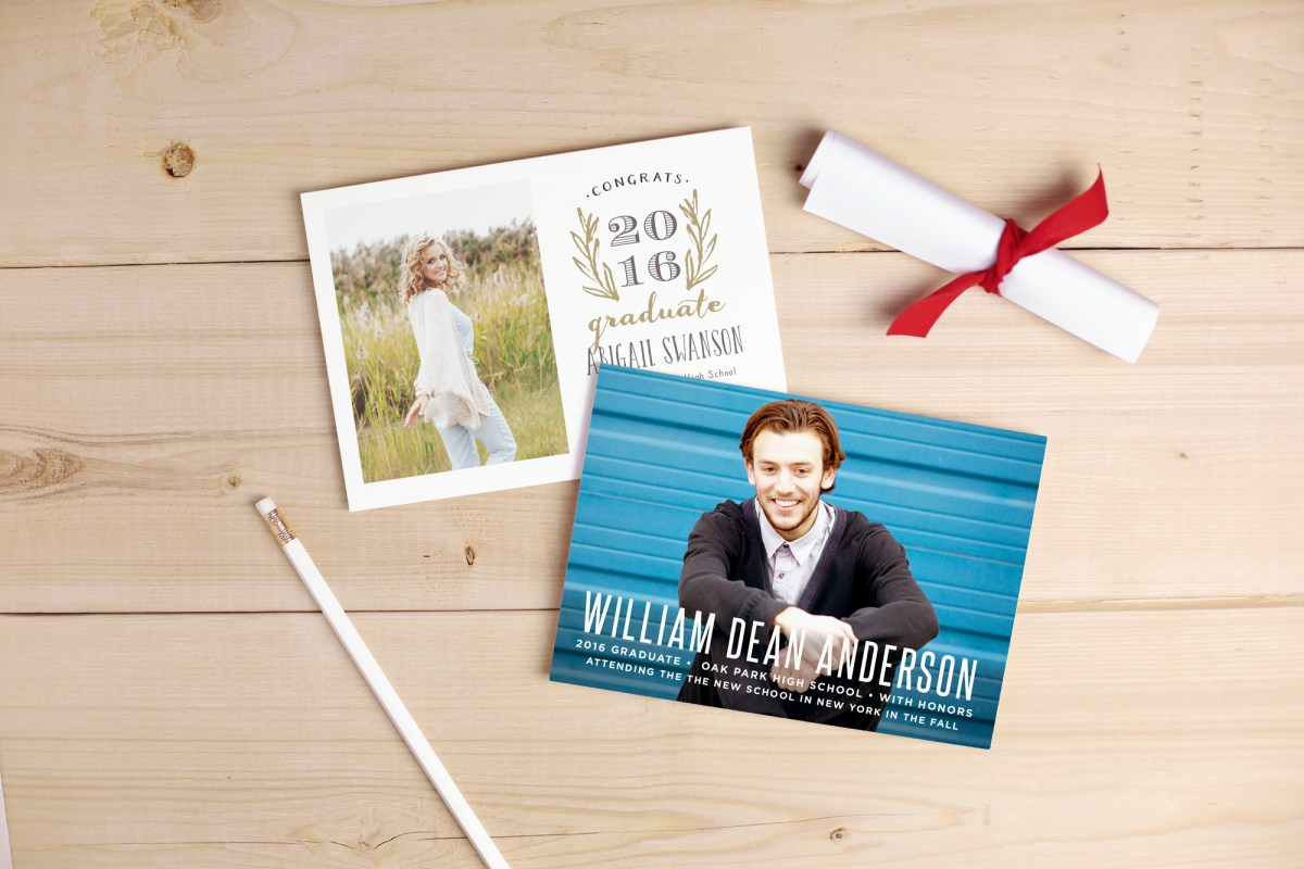 Basic Invite Graduation Announcements