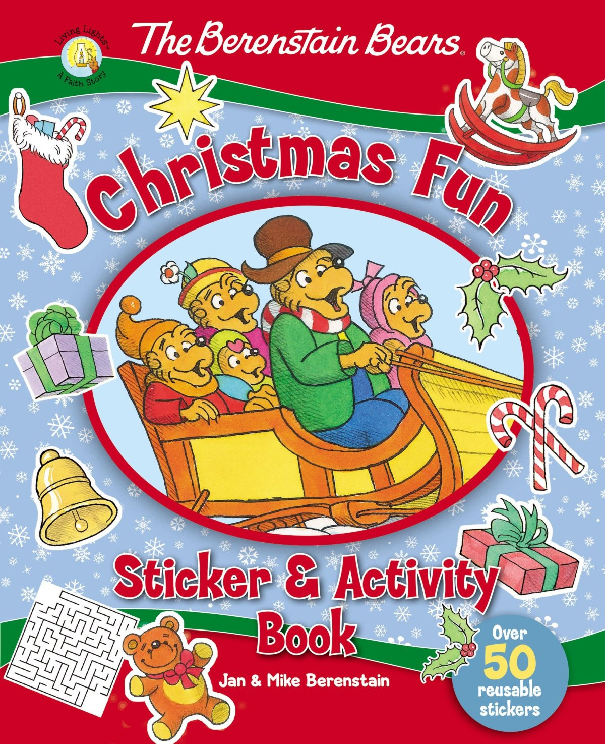 The Berenstain Bears Christmas Activity Book