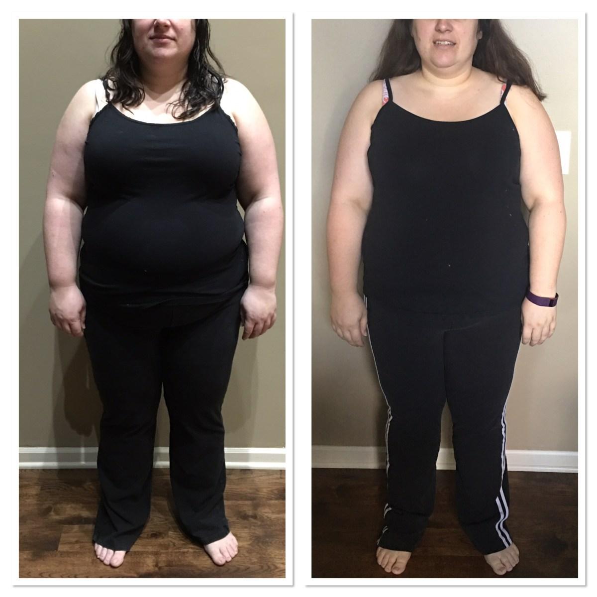 Week 9: 20 lbs Down!