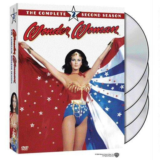 Wonder Woman DVDs
