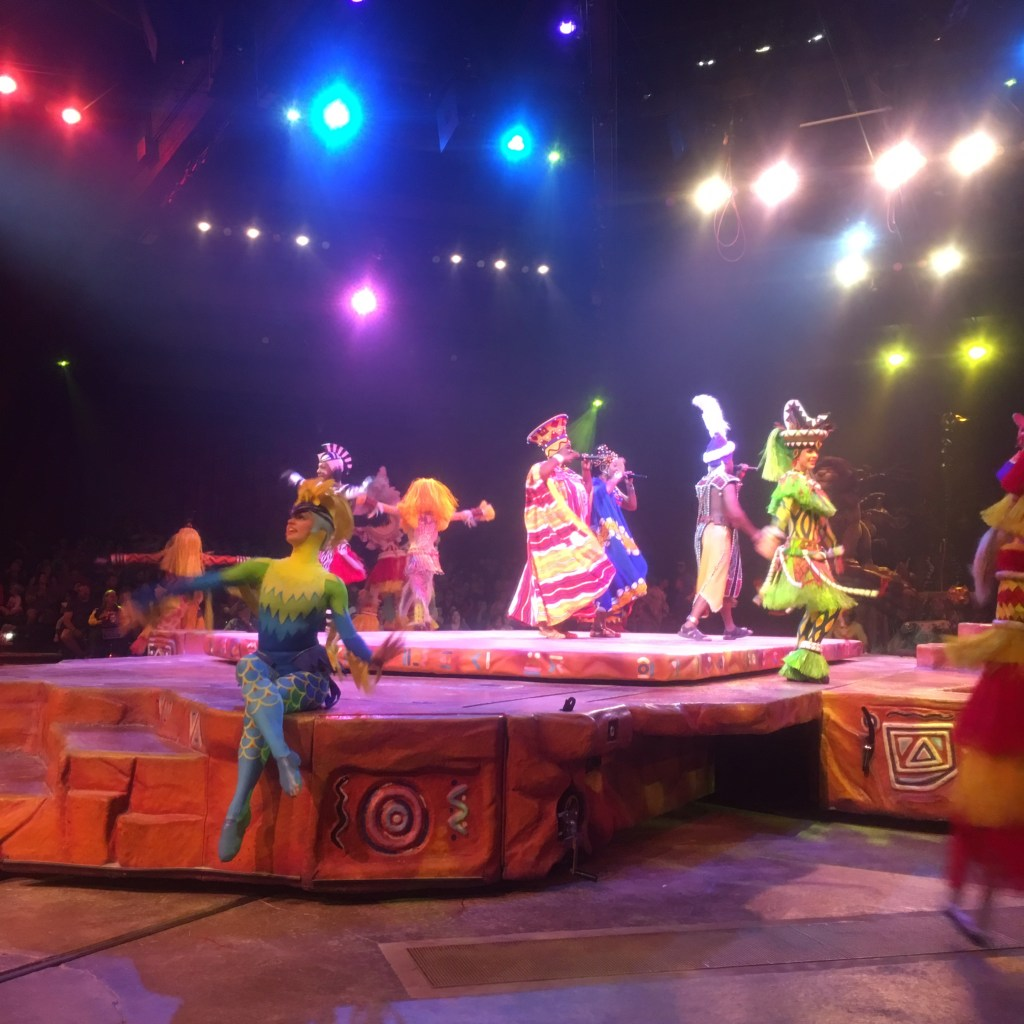 Lion King Show at Animal Kingdom