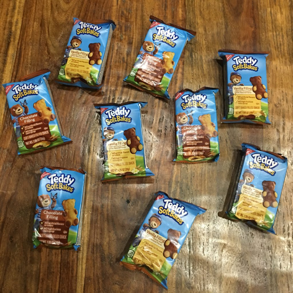 TEDDY SOFT BAKED Filed Snacks