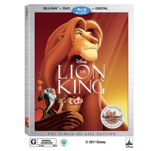 The Lion King Roars Into Stores Today!