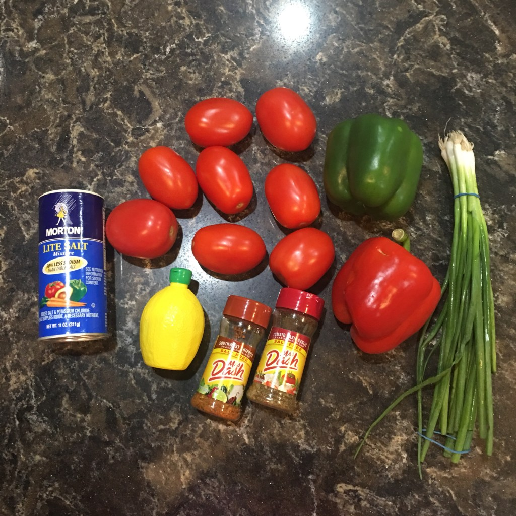 Ingredients for Salsa