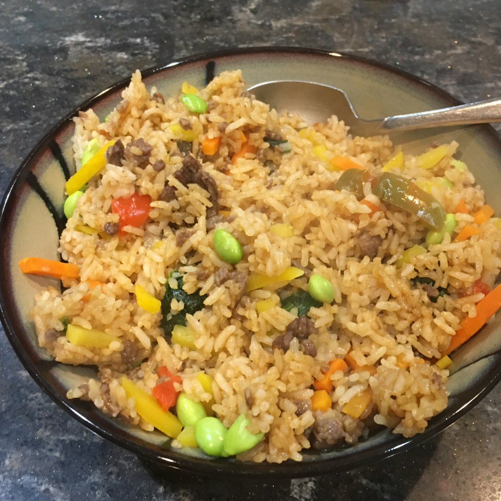 Ling Ling Bibimbap Beef Fried Rice