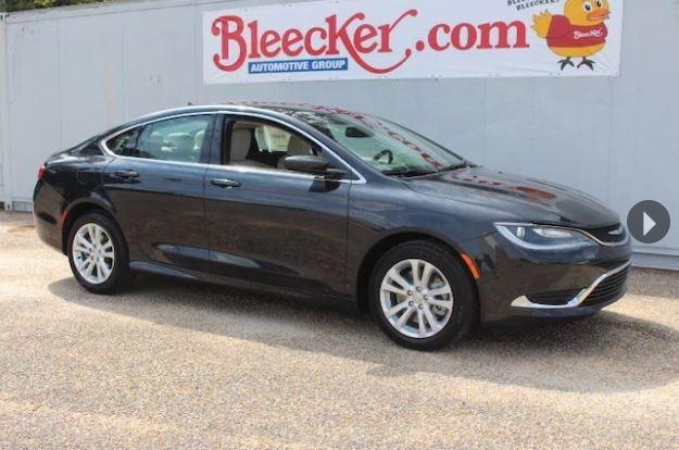 Bleeker Chrysler 200 Closeout deal