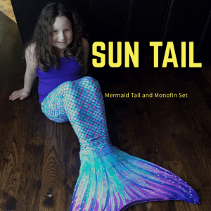 Sun Tail Mermaid Tail and Monofin