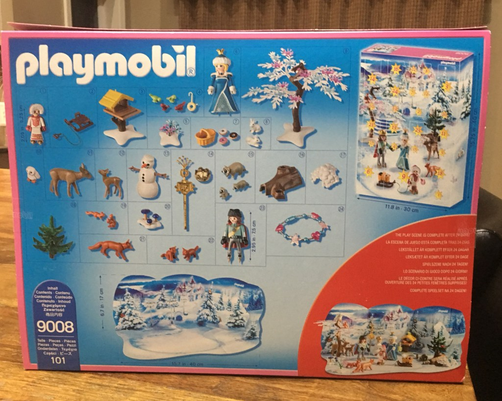 Playmobil Advent Calendar Royal Ice Skating