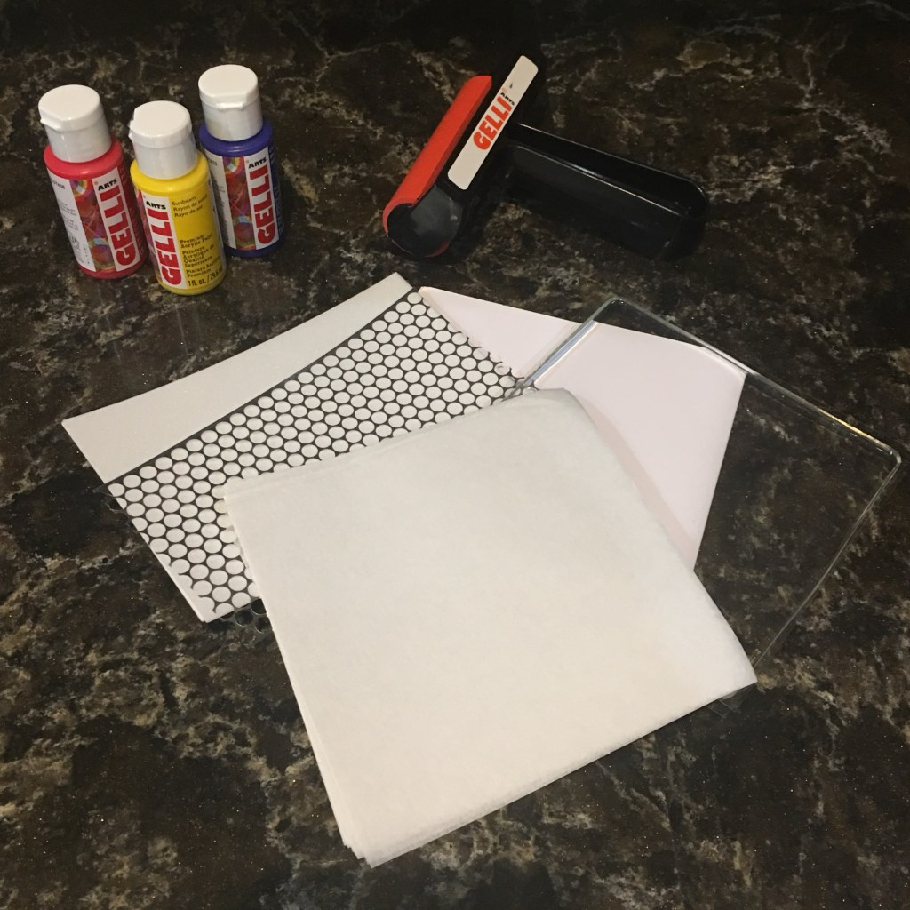 Gelli Arts Card Printing Kit