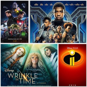 What's New for Disney in 2018 Movie Edition