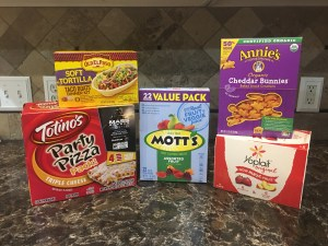Box Tops for Education Products