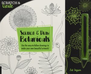 Scratch and Draw Botanicals by Zoe Ingram