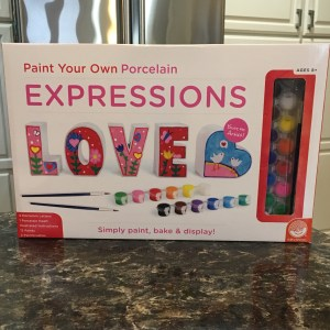 Paint Your Own Expressions Love by Mindware