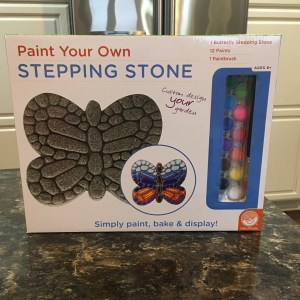 Mindware Paint Your Own Stepping Stone Butterfly