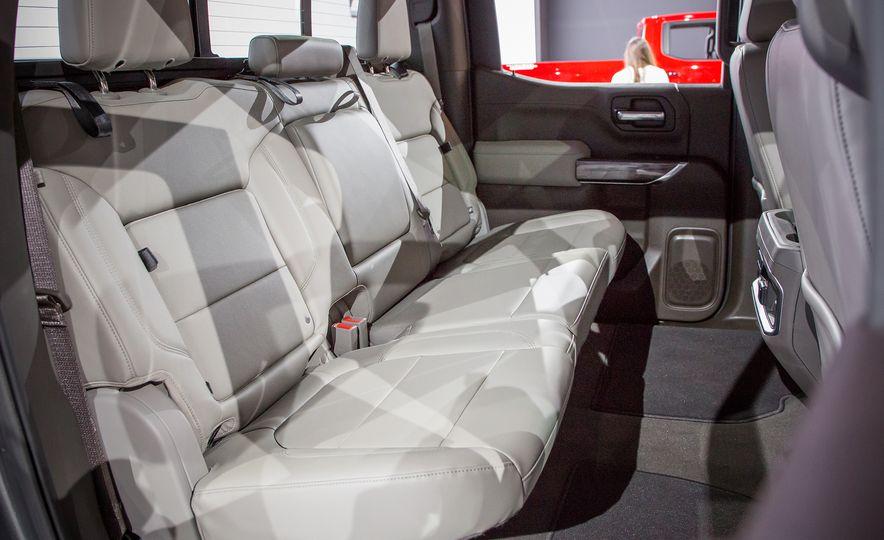 Interior 2019 Chevy Silverado