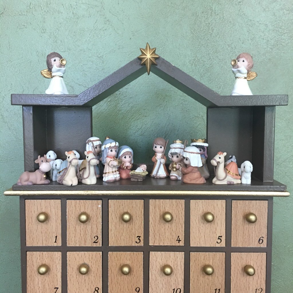 Precious Moment Nativity Advent Calendar