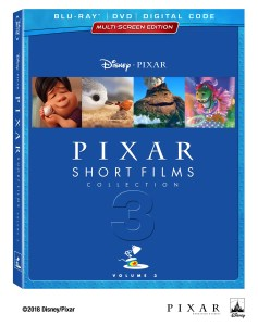 Bring Home Pixar Short Films Collection 3 Today