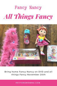 Bring Home All Things Fancy Nancy Today!
