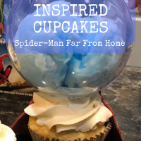 Mysterio Inspired Cupcakes
