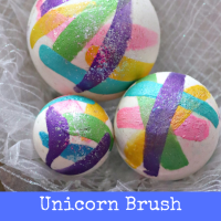 Unicorn Brush Strokes Bath Bombs