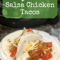 Ninja Foodi Salsa Chicken Tacos