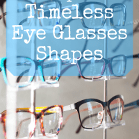 Top 4 Timeless Eye Glasses Shapes