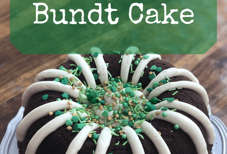 Bailey's Irish Cream Bundt Cake