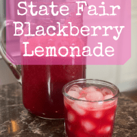 State Fair Blackberry Lemonade