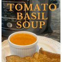 Ninja Foodi Tomato Basil Soup