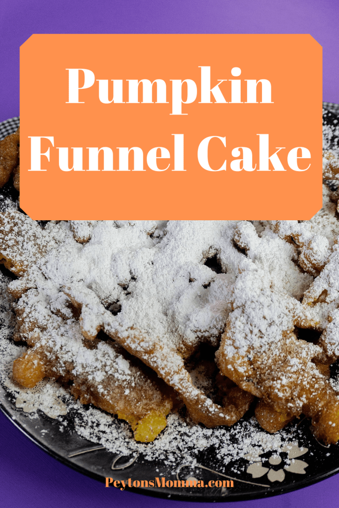 Pumpkin Funnel Cake