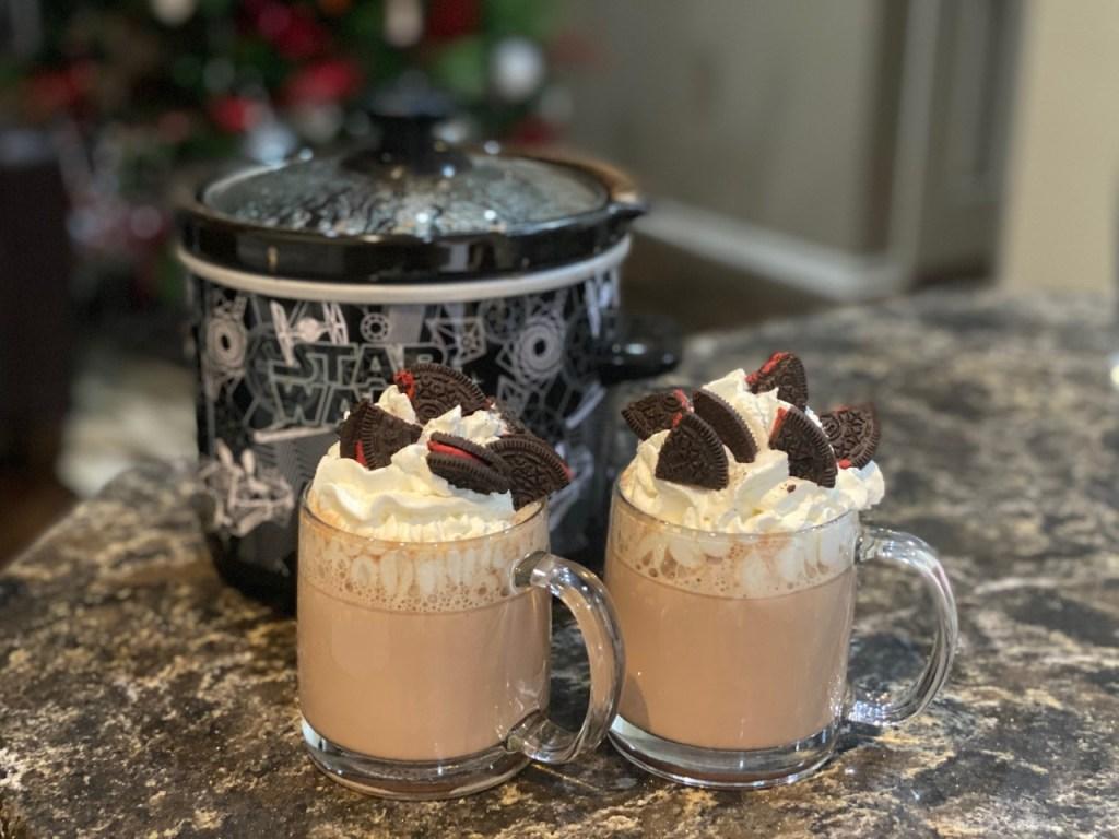 Oreo Cookie Hot Chocolate