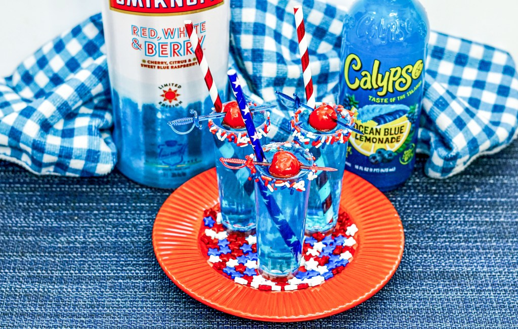 Red White and Berry Shots