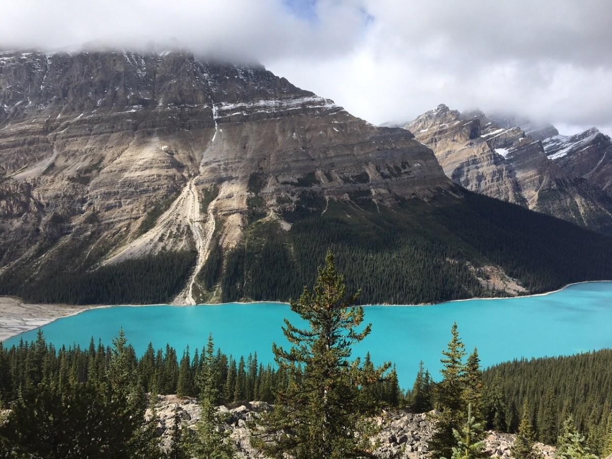 Icefields Parkway, a estrada que liga os parques nacionais de Jasper e Banff, no Canadá