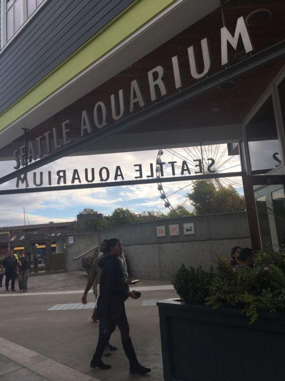 Entrada do Seattle Aquarium