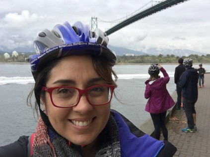 Passando de bike pelo parque, você tem vistas que não se tem quando passa de carro