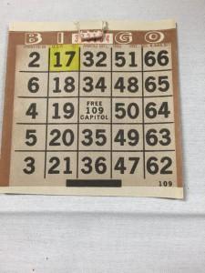brenda bingo card