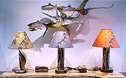 nature-inspired lamps