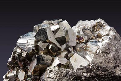 pyrite mineral sample