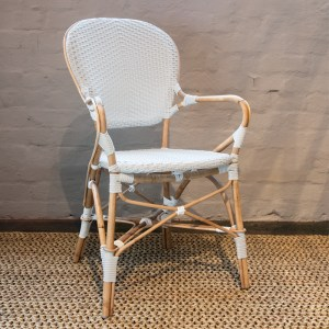Isabell Armchair White