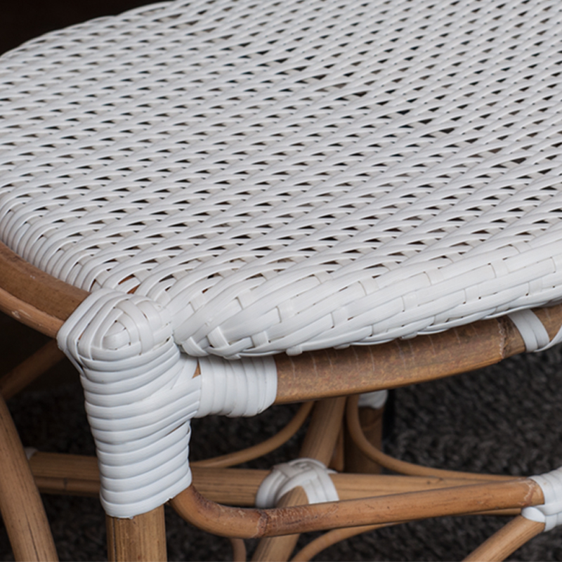 Isabell Armchair white Close