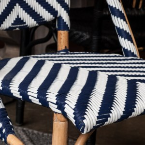 Sophie Chair Chevron Close