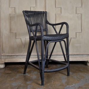 Blues Barstool Black