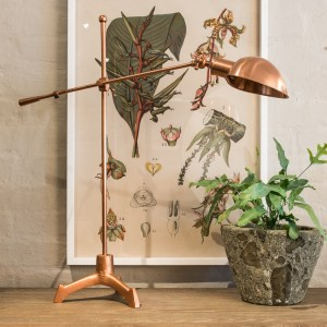 Table Lamp Balance Copper